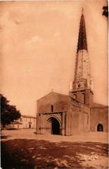 Ile-de-Re - Ars-en-Re - Belle Eglise d'Ars - Ars-en-Ré