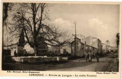 Lorignac - Arrivée de Lorignac - La vieille Fontaine - Lorignac