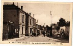 Saint-Denis-d'Oleron - La rue de l'Ormeau et l'hotel des Bains - Saint-Denis-d'Oléron