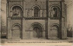 Chateauneuf-sur-Charente Facade de l'Eglise France - Châteauneuf-sur-Charente