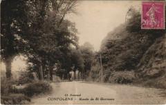 Confolens Route de Saint Germains France - Confolens