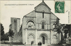 Chateauneuf-sur-Charente Eglise France - Châteauneuf-sur-Charente