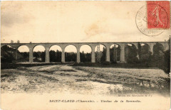 Saint-Claud (Charente) - Viaduc de la Sonnette - Saint-Claud