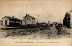 Parcoul-Médillac - La Gare de la Compagne d'Orléans - Médillac