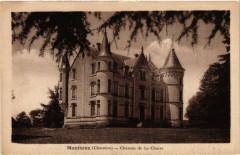 Montbron (Charente) - Chateau de la Chaize - Montbron