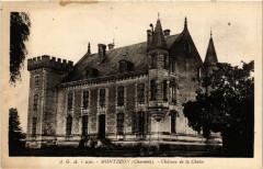 Montbron (Charente) - Chateau de la Chaise - Montbron