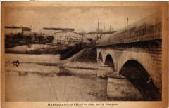 Marcillac-Lanville - Pont sur la Chargente - Marcillac-Lanville