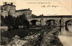 Le Pontouvre - La Digue et le Pont - Touvre