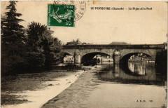 Le Pontouvre (Charente) - La Digue et le Pont - Touvre