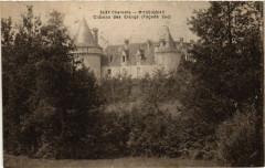 Charente - Massignac - Chateau des Etangs (Facade Sud) - Massignac