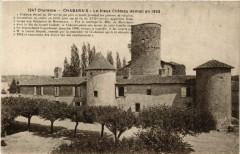 Charente - Chabanais - Le Vieux Chateau démoil en 1892 - Chabanais