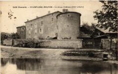 Charente - Champagne-Mouton - Le vieux Chateau (Xvi siécle) - Champagne-Mouton