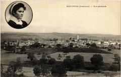 Montbron (Charente) - Vue générale - Montbron