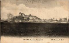 Chalais (Charente) - Vue générale - Chalais