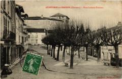 Aubeterre-sur-Dronne (Charente) - Place Ludovic-Trarieux - Aubeterre-sur-Dronne