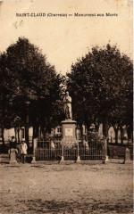Saint-Claud (Charente) - Monument aux Morts - Saint-Claud