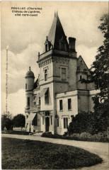 Rouillac (Charente) - Chateau de Ligneres coté nord-ouest - Rouillac