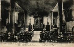 Chabanais (Charente) - Intérieur de l'Eglise - Chabanais