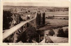 La Roche-Posay-les-Bains Vue générale et la Route de Preuilly - La Roche-Posay