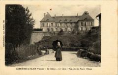 Sommieres-du-Clain Le Chateau - Vue prise du pont a l'Ouest - Sommières-du-Clain