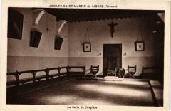 Liguge Abbaye Saint-Martin - La Salle du Chapitre - Ligugé