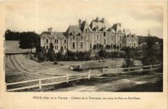 Iteuil Chateau de la Troussaye, vue prise du Parc au Sud-Ouest - Iteuil