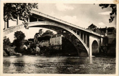 La Roche-Posay Le Pont sur la Creuse - La Roche-Posay
