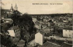 Montmorillon Vue sur la Gartempe - Montmorillon