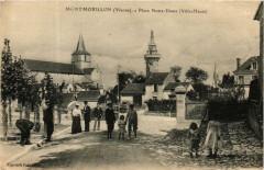 Montmorillon Place N.-D. - Montmorillon