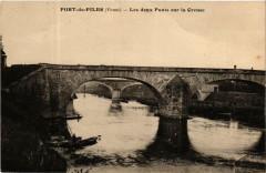 Port-de-Piles Les deux Ponts sur la Creuse - Port-de-Piles