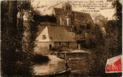 La Roche-Posay-les-Bains Eglise et le Moulin - La Roche-Posay