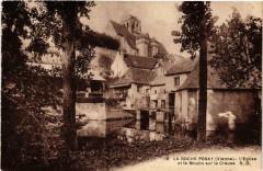 La Roche-Posay Eglise et le Moulin sur la Creuse - La Roche-Posay