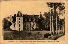 Saint-Julien-l'Ars Le Chateau, vue d'ensemble prise au Sud-Est - Saint-Julien-l'Ars