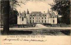 Le Chateau de la Fontaine pres Dange et les Ormes - Les Ormes