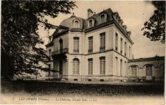 Les Ormes Le Chateau, Facade Sud - Les Ormes