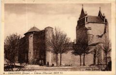 Chauvigny Chateau d'Harcourt - Chauvigny