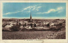 Saint-Savin Vue Generale - Saint-Savin