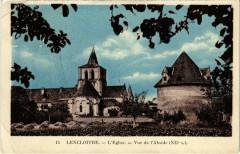 Lencloitre - L'Eglise - Vue de l'Abside - Lencloître