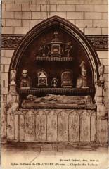 Eglise Saint-Pierre de Chauvigny - Chapelle des Reliques - Chauvigny