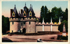Dissay - Le Chateau et la Place - Dissay