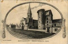 Montmorillon - Séminaire Cardinal-Pie - Entrée - Montmorillon