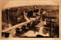 Angles-sur-l'Anglin - Le Pont sur L'Anglin et la Ville Basse - Angles-sur-l'Anglin