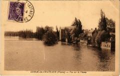 Lussac-les-Chateaux - Vue sur la Vienne - Lussac-les-Châteaux