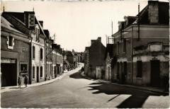 Lésigny - La rue Principale et le Bureau de Poste - Lésigny