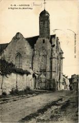Vienne Loudun L'Eglise du Martray - Loudun