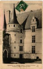 Vouneuil sur Vienne Chateau de Chistre Pavillon et Forte d'Entr - Vouneuil-sur-Vienne