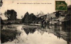 Vivonne - La Vonne - Pont des Carmes - Vivonne