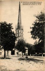 Saint-Savin-sur-Gartempe - Le cocher de l'ancienne Eglise - Saint-Savin