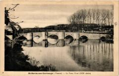 Saint-Savin sur Gartempe - Le Vieux Pont - Saint-Savin