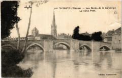 Saint-Savin - Les Bords de la Gartempe - Le Vieux Pont - Saint-Savin